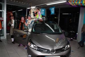 Prinzenwagenübergabe 2015